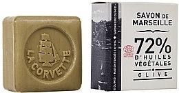 Parfumuri și produse cosmetice Săpun cu extract de măsline, în cutie dreptunghiulară - La Corvette Savon de Marseille Olive