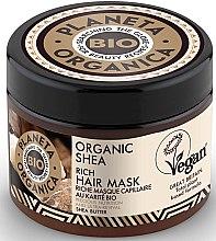 Parfumuri și produse cosmetice Mască hidratantă de păr - Planeta Organica Organic Shea Rich Hair Mask