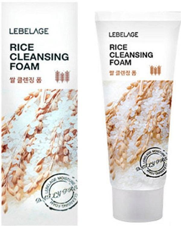 Spumă de orez pentru curățarea faței - Lebelage Rice Cleansing Foam