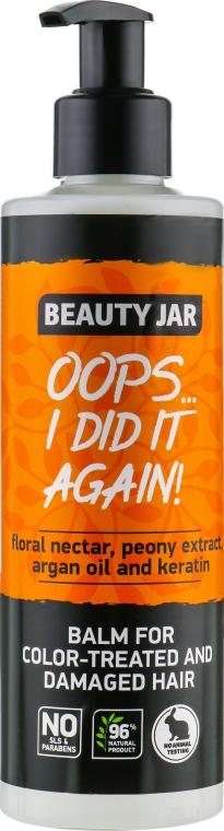 Balsam pentru părul vopsit și deteriorat - Beauty Jar Oops I Did It Again