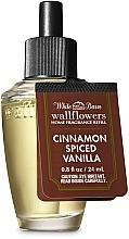 Parfumuri și produse cosmetice Bath And Body Works Cinnamon Spiced Vanilla Wallflowers Fragrance Refill - Difuzor de aromă (rezervă)