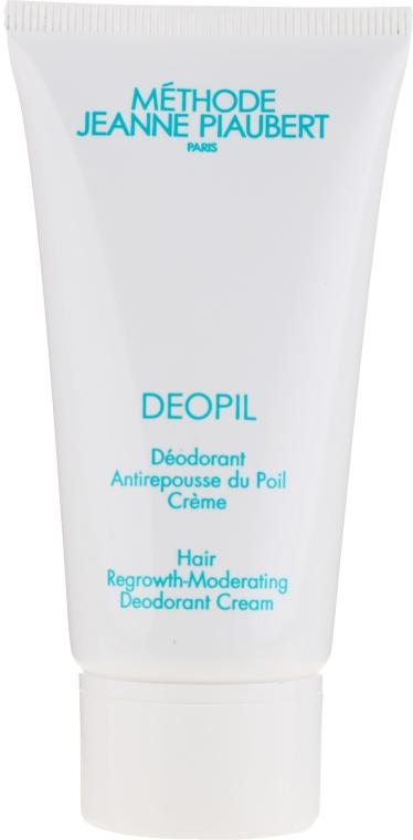 Cremă dezodorizantă,pentru creșterea lentă a părului - Methode Jeanne Piaubert Deopil Creme Alcohol-Free Antiperspirant — Imagine N2