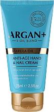 Parfumuri și produse cosmetice Cremă pentru mâini și unghii - Argan+ Anti Age Hand & Nail Cream