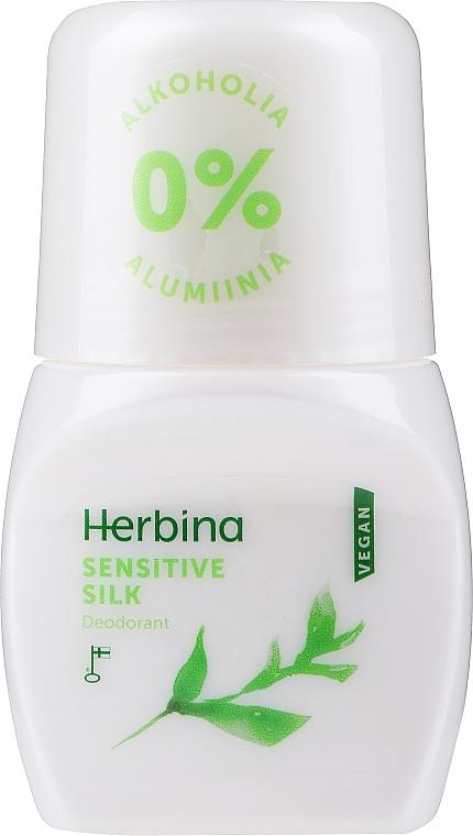 "Deodorant roll-on ""Sensitive silk"" - Berner Herbina Sensitive Silk"
