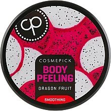 Parfumuri și produse cosmetice Peeling cu aromă de pitahaya pentru corp - Cosmepick Body Peeling Dragon Fruit