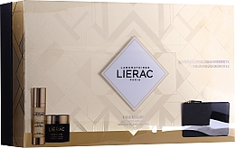 Parfumuri și produse cosmetice Set - Lierac Premium Luxe (cr/50ml + ser/30ml + bag)