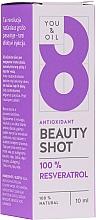 Parfumuri și produse cosmetice Ser facial - You & Oil Serum Facial N8 Antioxidante Natural Vegano Resveratrol Beauty Shot