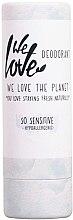 Parfumuri și produse cosmetice Deodorant solid pentru pielea sensibilă - We Love The Planet So Sensitive Deodorant Stick
