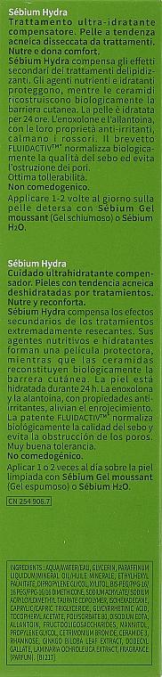 Cremă hidratantă - Bioderma Sebium Hydra Moisturising Cream — Imagine N3