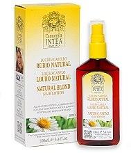 Parfumuri și produse cosmetice Loțiune pentru decolorarea părului de pe corp - Intea Premium Natural Blonde Hair Lightening Lotion Wth Natural Camomile Extract