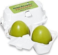Parfumuri și produse cosmetice Săpun-mască cu ceai verde - Holika Holika Green Tea Egg Soap