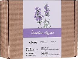 Parfumuri și produse cosmetice Set - Biolaven Lavender Relief (ser/30ml + eye/cr/15ml + hydrolat/100ml + pouch/30g)