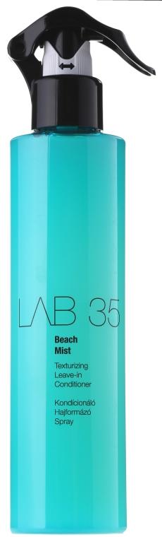 Spray pentru structurarea părului - Kallos Cosmetics Lab 35 Beach Mist Leave in Conditioner — Imagine N1