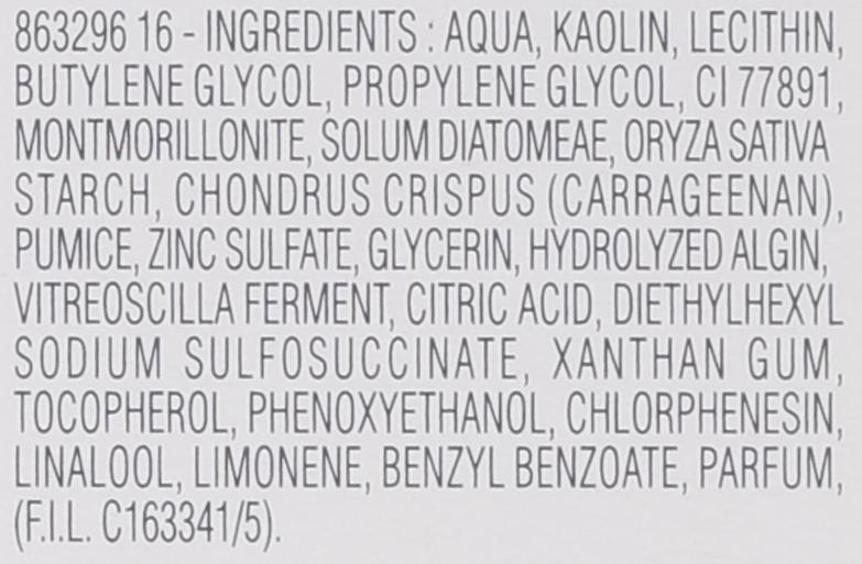 Mască de curățare pentru față 2în1 - Biotherm Pure.fect Skin 2 In1 Pore Mask — Imagine N2