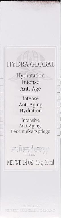 Cremă hidratantă cu efect anti-îmbătrânire - Sisley Hydra Global Intense Anti-Aging Hydration — Imagine N1