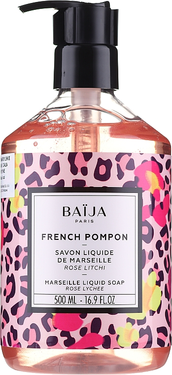 Săpun lichid de Marsilia - Baija French Pompon Marseille Liquid Soap — Imagine N1