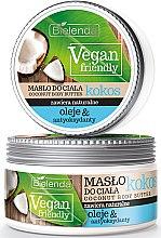 Parfumuri și produse cosmetice Unt de corp cu ulei cocos - Bielenda Vegan Friendly Coconut Body Butter