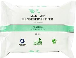 Parfumuri și produse cosmetice Șervețele 3 în 1 pentru față - Gron Balance Make-up Wipes 3in1