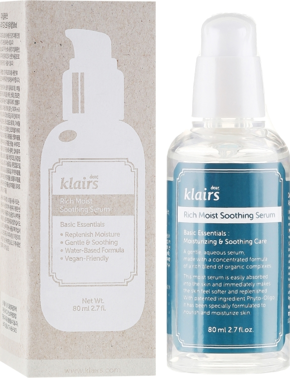 Ser facial hidratant - Klairs Rich Moist Soothing Serum