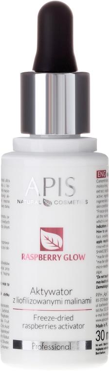 Activator facial cu zmeură liofilizată - APIS Professional Raspberry Glow — Imagine N1