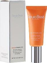 Parfumuri și produse cosmetice Cremă-Gel regenerant pentru conturul ochilor - Natura Bisse C+C Vitamin Eye