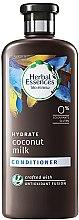 Parfumuri și produse cosmetice Balsam de păr - Herbal Essences Coconut Milk Conditioner