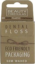 Parfumuri și produse cosmetice Ață dentară cerată, ecologică - Beauty Formulas Eco Friendly Dental Floss