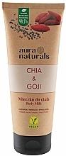 """Parfumuri și produse cosmetice Lapte pentru corp """"Chia și Goji"""" - Aura Naturals Chia & Goji Body Milk"""