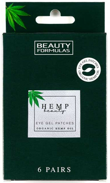 Patch-uri sub ochi - Beauty Formulas Hemp Beauty Eye Gel Patches