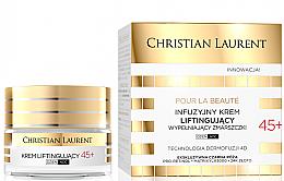 Parfumuri și produse cosmetice Cremă-lifting cu efect anti-rid 45+ - Christian Laurent Pour La Beaute Face Cream 45+