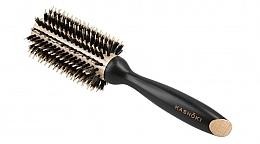 Parfumuri și produse cosmetice Perie rotundă de păr, 28 mm - Kashoki Hair Brush Natural Beauty