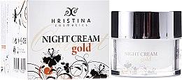 Parfumuri și produse cosmetice Cremă de noapte pentru față - Hristina Cosmetics Orient Gold Night Cream
