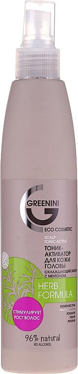 Tonic activator pentru scalp - Greenini Herb Formula