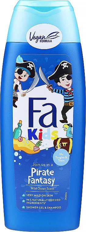 Gel de duș pentru băieți - Fa Kids Pirate Fantasy