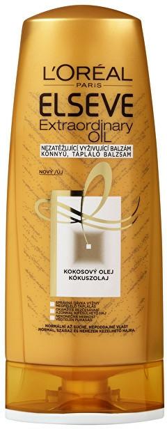 Balsam nutritiv pentru păr normal și uscat - L'Oreal Paris Elseve Extraordinary Oil Coconut Conditioner