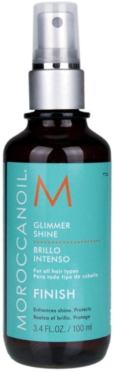 Spray hidratant ce conferă lstrălucire - Moroccanoil Glimmer Shine — Imagine N2