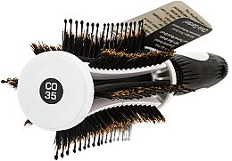 Perie Brushing 35mm - Olivia Garden Thermo Active Ionic Boar Combo Brush 35 — Imagine N2