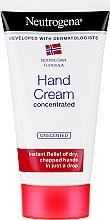 Parfumuri și produse cosmetice Cremă de mâini - Neutrogena Norwegian Formula Concentrated Unscented Hand Cream