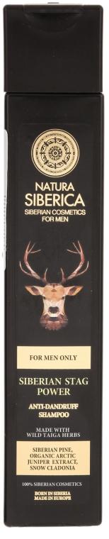 "Șampon anti-mătreață ""Stag Power"" - Natura Siberica — Imagine N1"