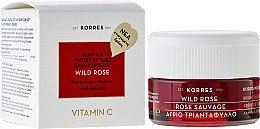 Parfumuri și produse cosmetice Cremă de față pentru ten normal și combinat - Korres Wild Rose Brightening & First Wrinkles Day Cream