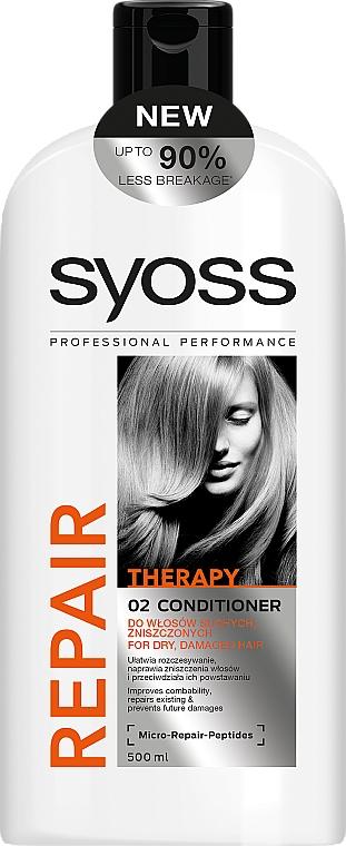 Balsam pentru păr uscat și deteriorat - Syoss Repair Therapy — Imagine N1