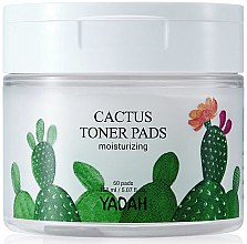 Parfumuri și produse cosmetice Pad-uri hidratante cu extract de cactus pentru față - Yadah Cactus Moisturizing Toner Pads