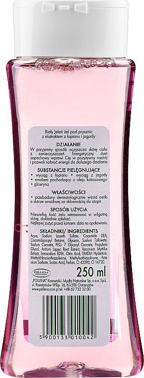 Gel de duș cu brusture și fructe de pădure - Bialy Jelen Burdock And Berry Shower Gel — Imagine N2