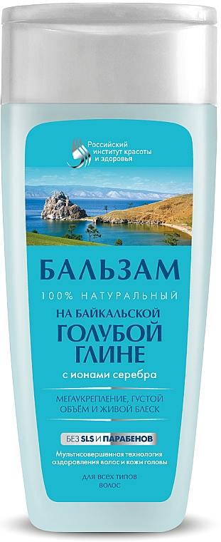 Balsam pe bază de argilă albastră Baikal pentru păr - FitoKosmetik  — Imagine N1