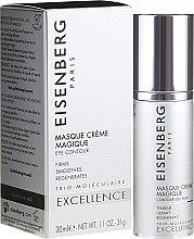Parfumuri și produse cosmetice Mască pentru zona ochilor - Jose Eisenberg Excellence Masque Creme Magique Eye Contour