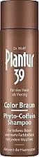 Parfumuri și produse cosmetice șampon tonifiant anti-cădere a părului pentru părul închis la culoare - Plantur 39 Color Brown Phyto-Coffein Shampoo