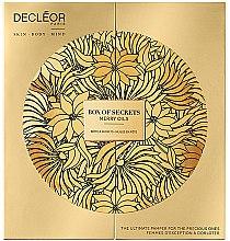Set - Decleor Box of Secrets Merry Oils (balm/15ml + ser/15ml + miccelar/150ml + oil/15ml + b/exf/50ml) — Imagine N4
