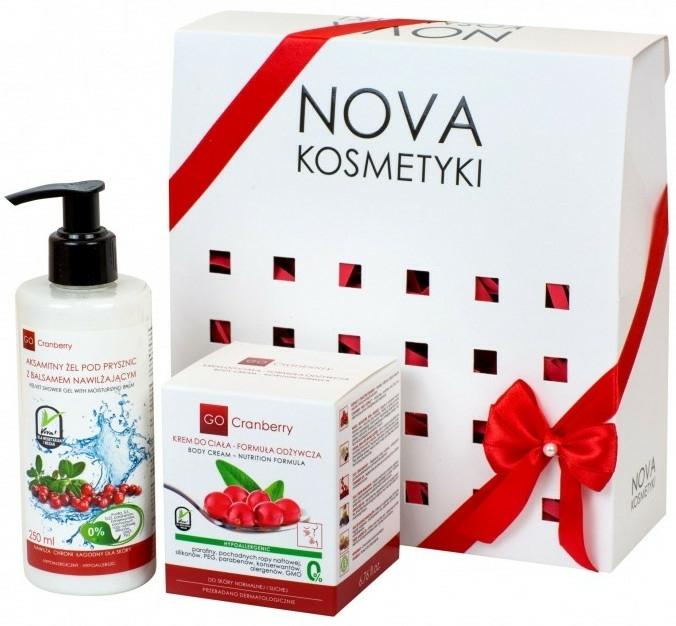 Set pentru îngrijirea pielii - GoCranberry (sh/gel/250ml + b/cream/200ml) — Imagine N1