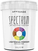 Parfumuri și produse cosmetice Pudră iluminantă pentru păr - Affinage Salon Professional Spectrum Lightening Powder