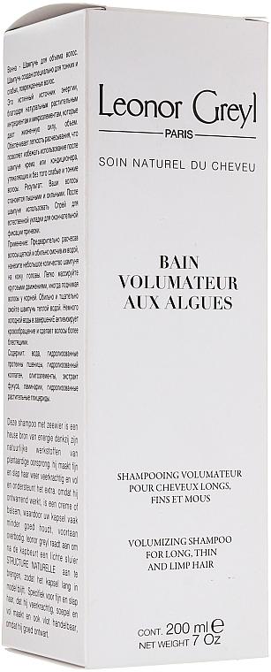 Șampon cu alge pentru volumul părului - Leonor Greyl Bain Volumateur aux Algues — Imagine N1